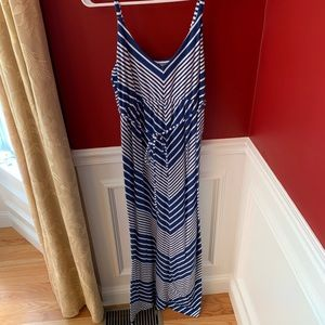 Old Navy Maternity Tank Maxi Dress Size Medium